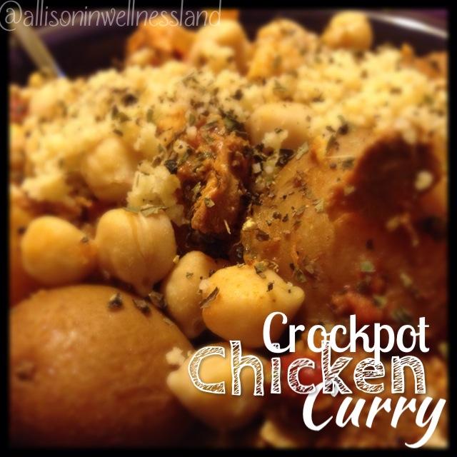 Crockpot Chicken Curry