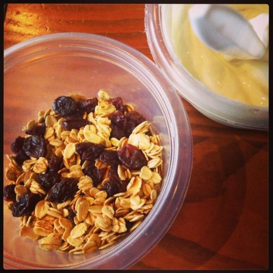 The Original batch of homemade granola