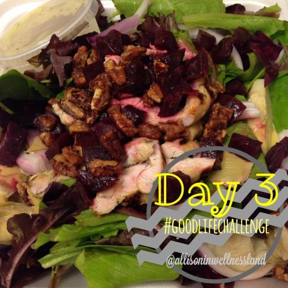 Roasted Beet & Chicken Salad