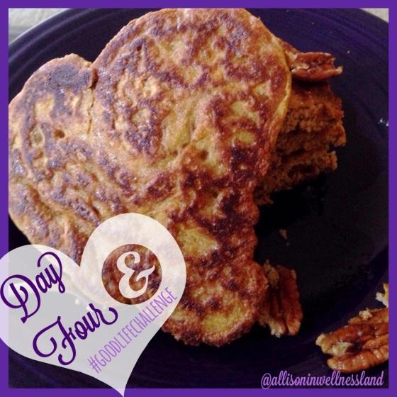 Pumpkin Protein Pancakes!