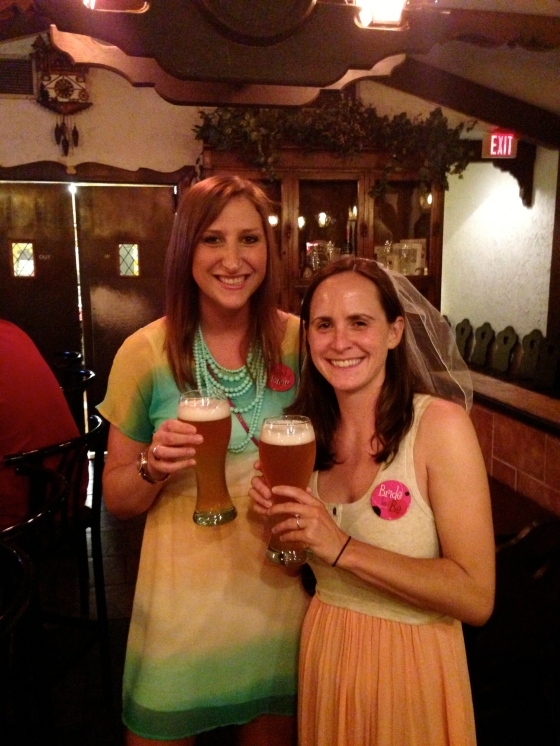 das' boot for her bachelorette party