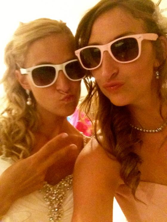 fish-face & stunna shade wedding musts!