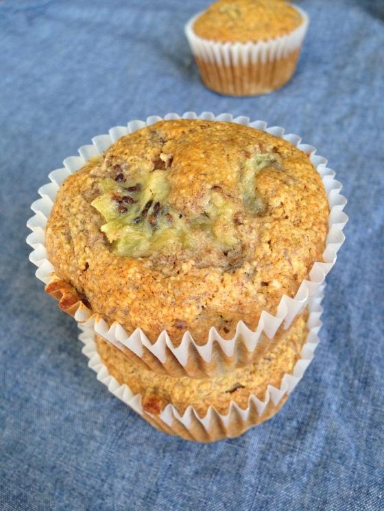 Kiwi Muffin