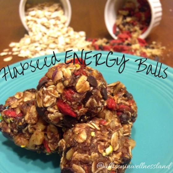 Flaxseed Energy Balls