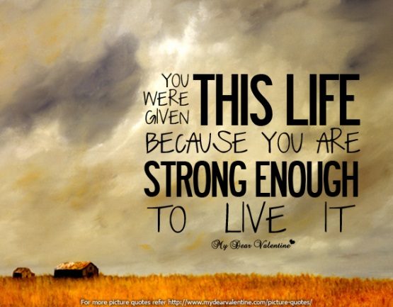 You're Strong Enough
